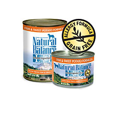 Natural Balance Limited Ingredient Fish Sweet Potato Can