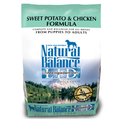 Natural Balance Sweet Potato and Chicken