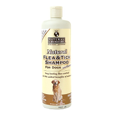 Natural Chemistry Flea and Tick Shampoo with Oatmeal
