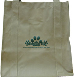 Natural K9 Reusable Tote Bag