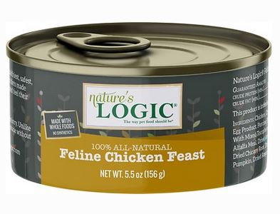 Natures Logic Chicken Recipe Canned Cat Food