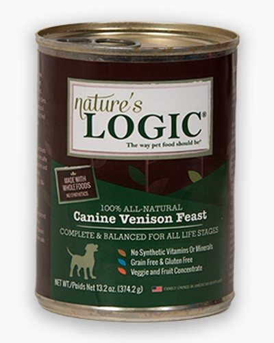Natures Logic Natural Venison Canned