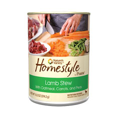 Natures Variety Homestyle by Prairie Lamb Stew Cans