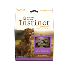 Natures Variety Instinct Rabbit Meal Apples and Ginger Biscuits