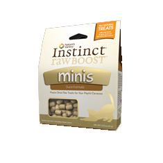 Natures Variety Instinct Raw Boost Duck Minis Cat Treats