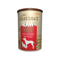 Natures Variety Instinct Raw Daily Boost Beef Formula