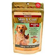 Naturvet Aller 911 Skin and Coat Soft Chews