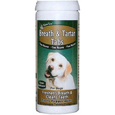 NaturVet Breath and Tartar Tabs