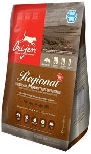 Orijen Freeze Dried Dog Food Regional Red