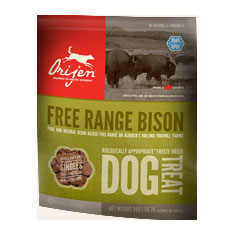 Orijen Freeze Dried Free Range Bison Treats
