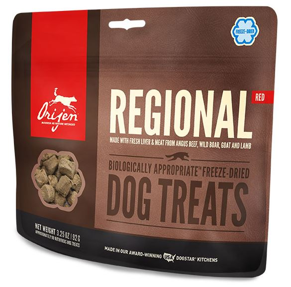 Orijen Freeze Dried Treats Regional Red Formula