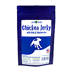 Pet Kelp Chicken Jerky with Kelp and Blueberries