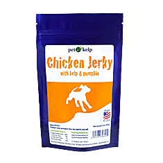 Pet Kelp Chicken Jerky with Kelp and Pumpkin