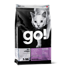 Petcurean GO Natural Chicken Turkey and Duck Dry Cat Food