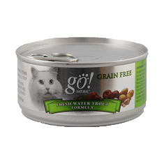 Petcurean GO Natural Freshwater Trout Canned Cat Food