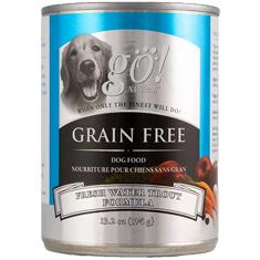 Petcurean GO Natural Grain Free Trout Cans