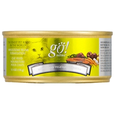 Petcurean GO Natural Salmon and Vegetable Canned Cat Food