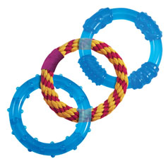Petstages Orka Dental Links Chew Toy