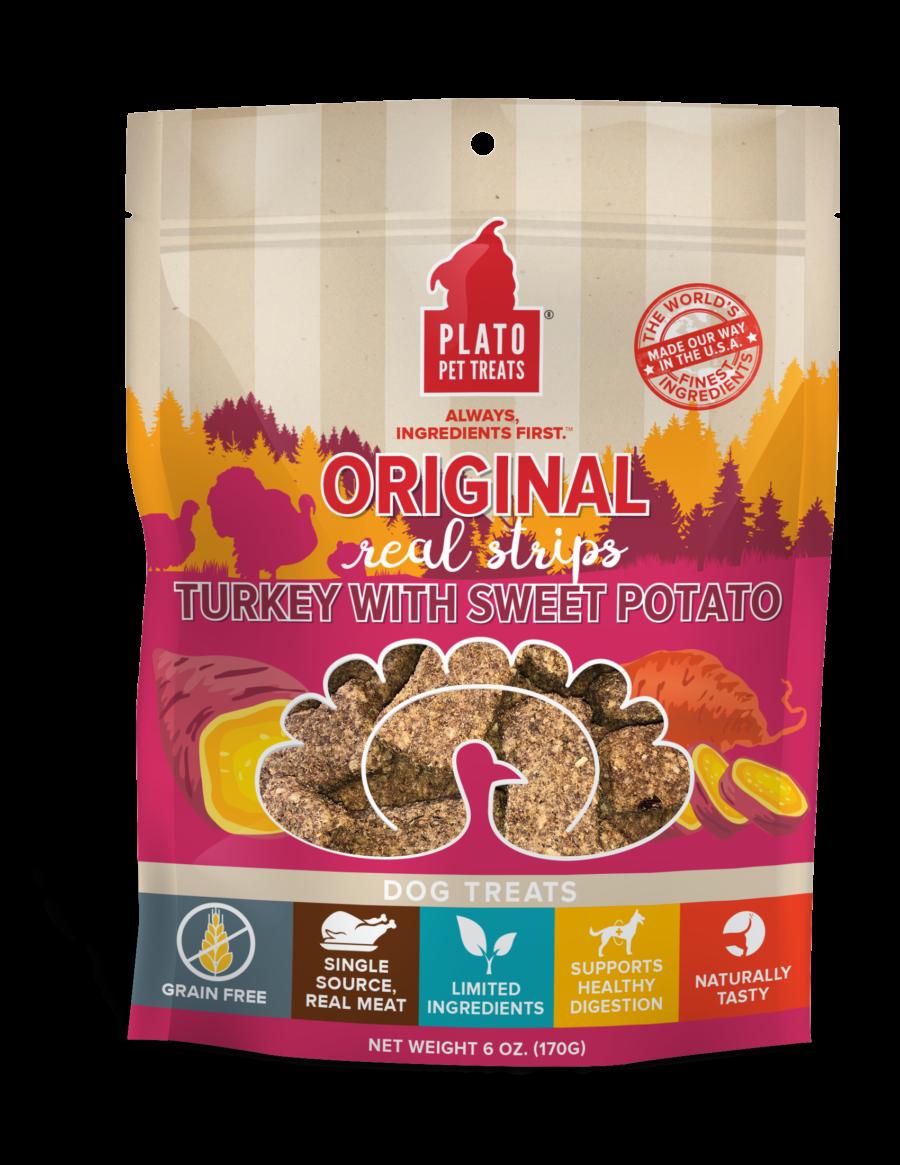 Plato EOS Turkey with Sweet Potato Dog Treats