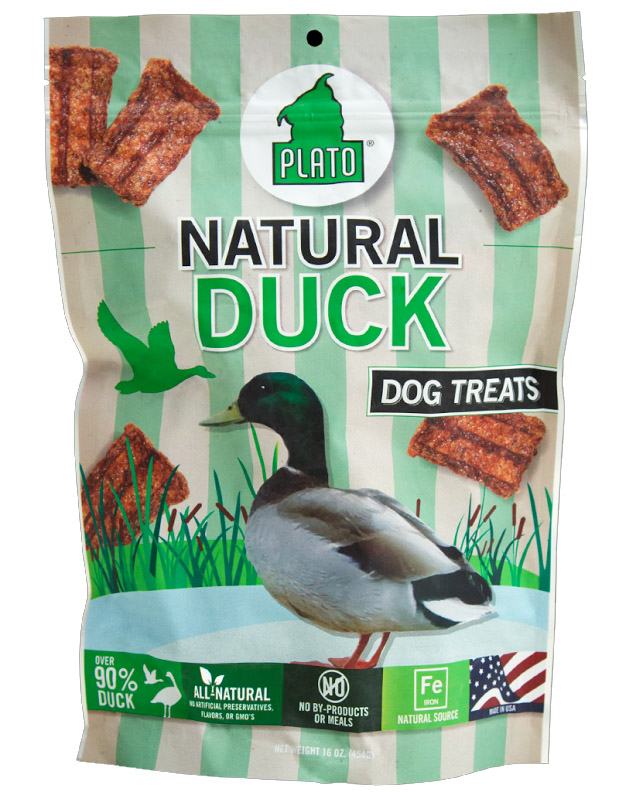 Plato Pet Treats Duck Strips