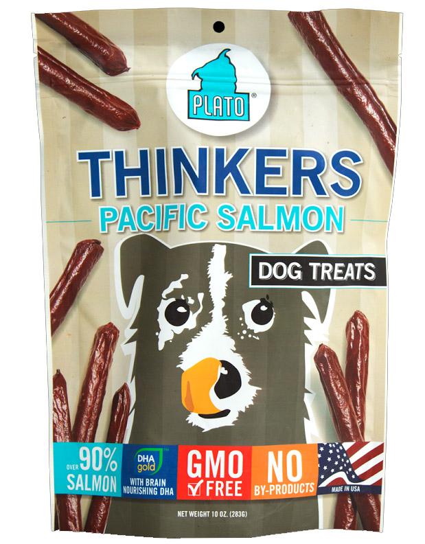 Plato Pet Treats Thinkers Salmon