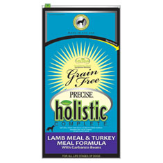 Precise Holistic Complete Grain Free Lamb and Turkey Dry Dog Food