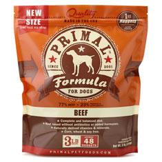 Primal Frozen Canine Beef Formula