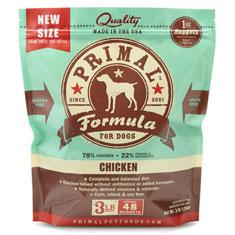 Primal Frozen Canine Chicken Formula