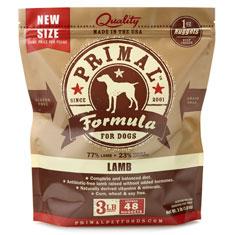 Primal Frozen Canine Lamb Formula