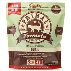 Primal Frozen Feline Quail Formula