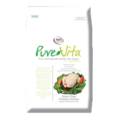 Pure Vita Grain Free Chicken Entree Dry Cat Food
