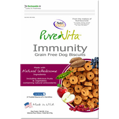 Pure Vita Grain Free Immunity Dog Biscuits