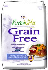 PureVita Grain Free Dog Food Turkey Formula