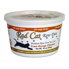 Rad Cat Raw Free Range Chicken Cat Food
