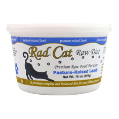 Rad Cat Raw Pasture Raised Lamb Cat Food