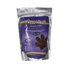 Real Meat Freeze Dried Raw Lamb Dog Food