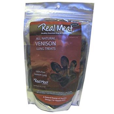 Real Meat Venison Lung Crunchers
