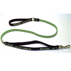 ROK Strap Leash Green and Black