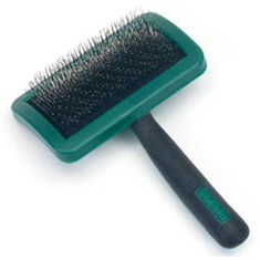 Safari Firm Curved Slicker Brush Large