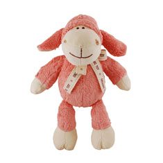 Simply Fido Lolly Lamb Organic Dog Toy