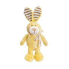 Simply Fido Lucy Bunny Organic Dog Toy