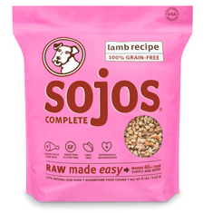 Sojos Lamb Complete Dog Food