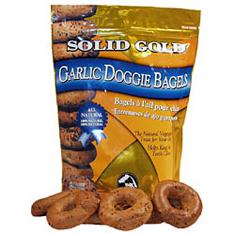 Solid Gold Garlic Bagels