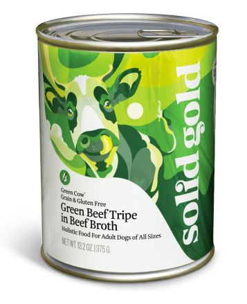 Solid Gold Green Cow Tripe