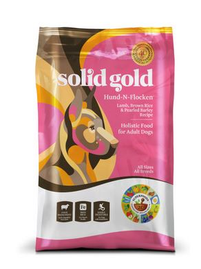 Solid Gold Hund n Flocken Adult Maintenance Dry Dog Food Lamb