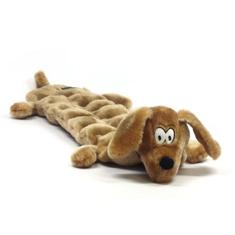 Squeaker Mat Long Body Wiener Dog Dog Toy