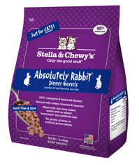 Stella and Chewys Absolutely Rabbit Cat Dinner Morsels