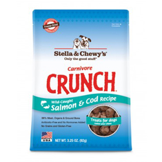 Stella and Chewys Carnivore Crunch Salmon and Cod Treats