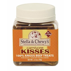 Stella and Chewys Carnivore Kisses Raw Angus Beef Treats