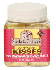 Stella and Chewys Carnivore Kisses Salmon Treat